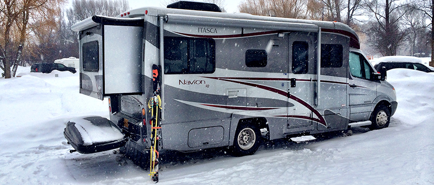RV Camping Located In The Heart Of Jackson Hole